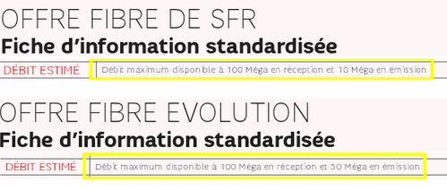 SFR baisse le débit de son offre Neufbox Fibre